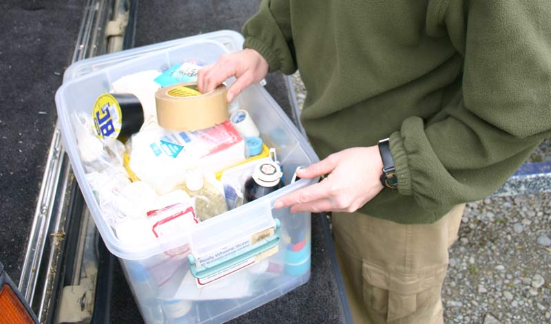 A first aid kit for your horses ... and don't forget one for you.