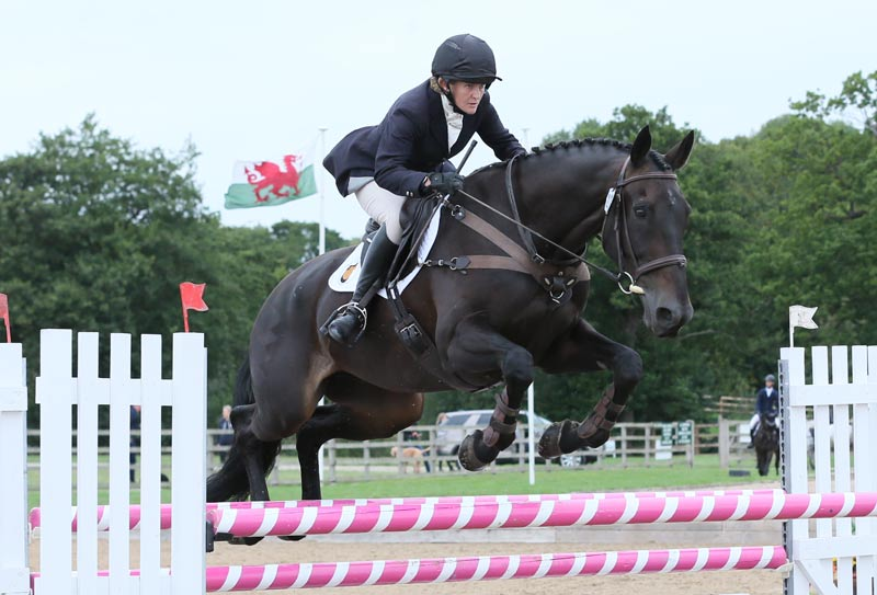 Penny Lawn using a Smart saddle on Bold Impulse at the CIC* at Somerford International Horse Trials.