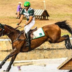 Usman Khan. Picture: Pakistan Eventing