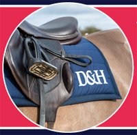 Dodson and Horrell are giving away a branded saddle pad