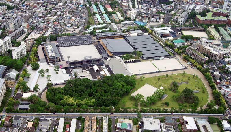 Baji Koen Equestrian Park in Setagaya will be the venue of most of the equestrian competitions of the Tokyo 2020 Olympic Games.