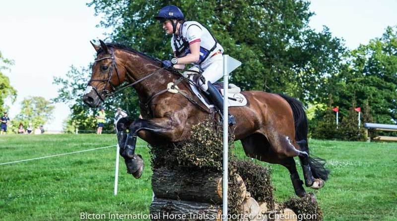 Bubby Upton pictured on Cola III during the CCI4*-L u25 class at Bicton in June.