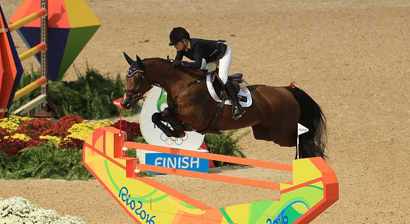 Edwina Tops-Alexander pictured at the 2016 Rio Games.