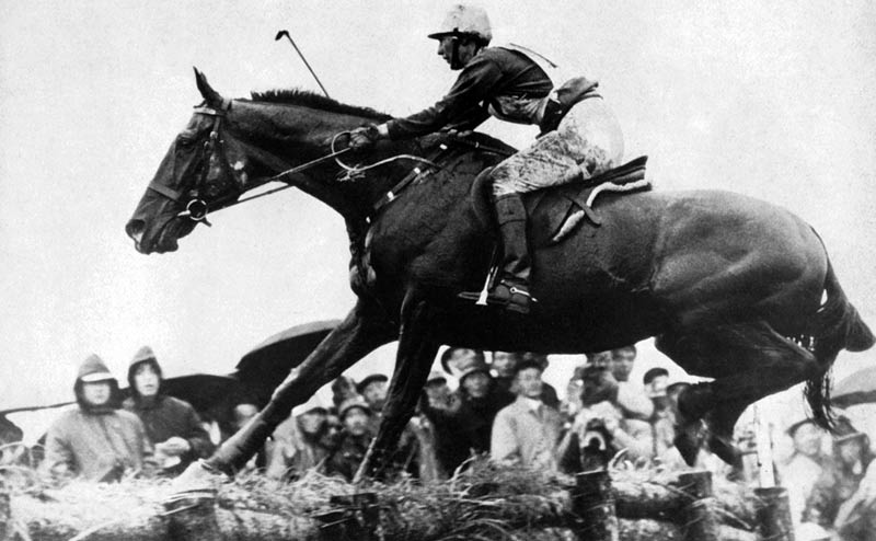 US rider Lana du Pont was the first female Olympic eventer, riding Mr Wister to team silver at Tokyo 1964.