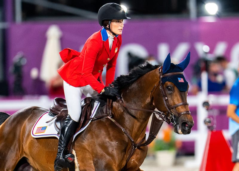Jessica Springsteen and Don Juan van de Donkhoeve helped the US team to silver at Tokyo 2020.