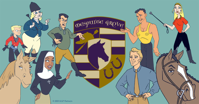 Some of the characters of Mesquite Grove.