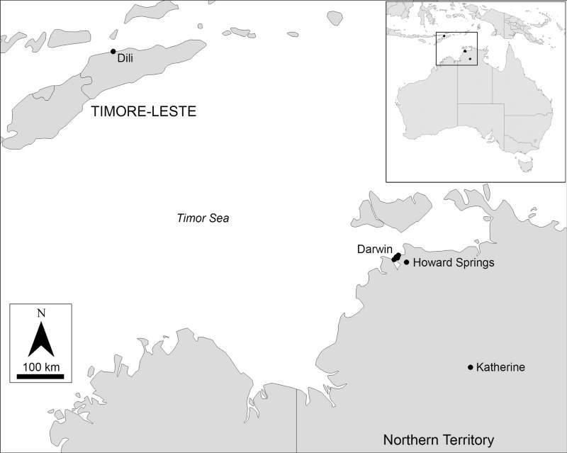 Distribution of Culex (Culex) tritaeniorhynchus specimens sequenced in the study. Image: Lessard et al. https://doi.org/10.1186/s13071-021-04911-2
