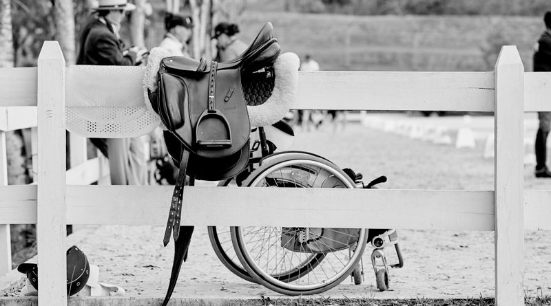 """""""Para Sports, like Para Equestrian, have shown the world that a disability is only disabling when it prevents someone from doing what they really want to do."""""""
