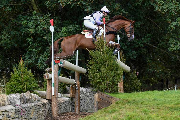 Gemma Tattersall and Jalapeno III finished fourth in the CCI4*L to win the Gemini Stud prize at Blenheim.