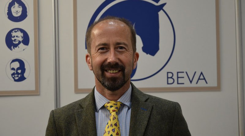 Huw Griffiths is the new President of the British Equine Veterinary Association (BEVA).