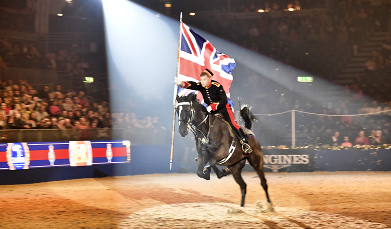 The Household Cavalry Mounted Regiment will perform a musical ride each day of the show.