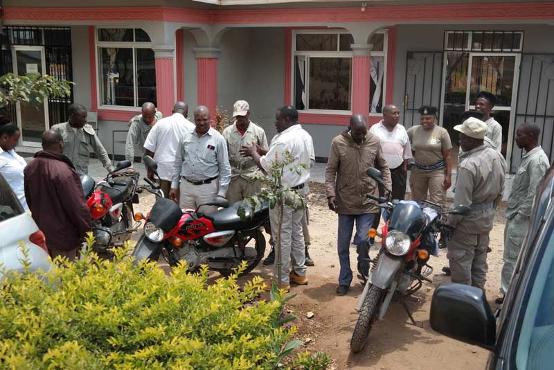 Motorbikes have helped border guards clamp down on donkey thefts on the Tanzania-Kenya border.