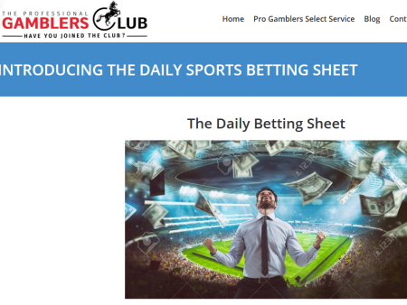 The Daily Betting Sheet