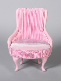 PRINCESS CHAIR- PINK (Perfectly scaled for Vita and most ...