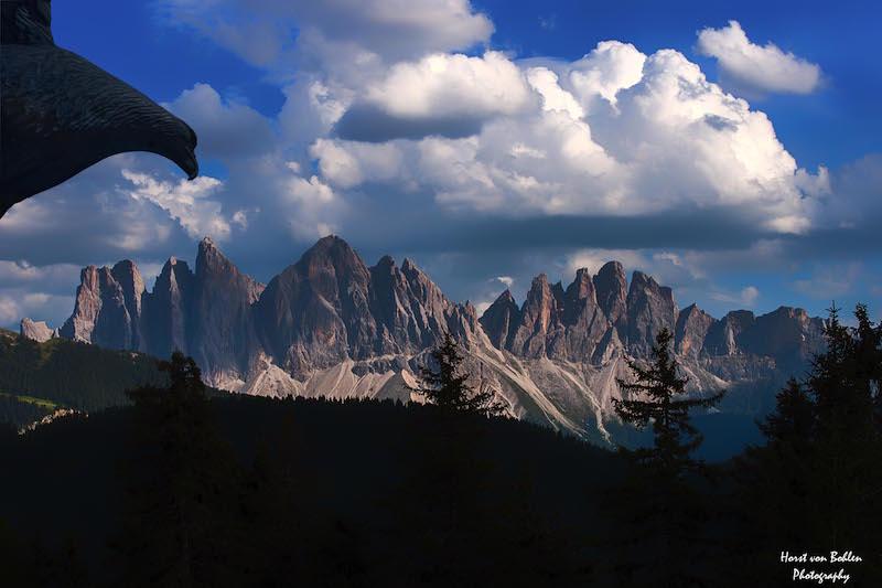 Traumpanorama in Südtirol, da will man hin
