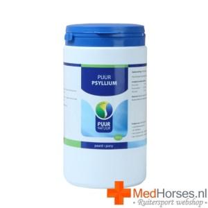 Een kuur van psyllium vezels voert zand af uit de darmen van je paard
