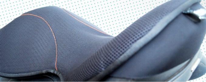 fastfabrics seatsaver schokabsorberend en ventilerend detail