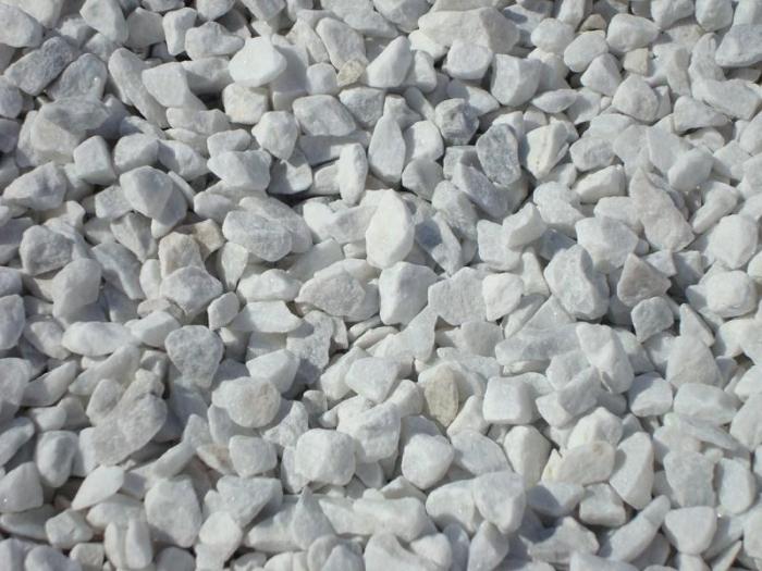 Gravier Marbre Blanc 8 12 Big Bag De 1m3