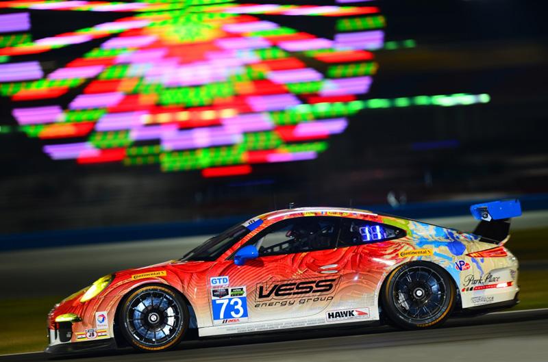 No. 73 Children's Tumor Foundation/Racing4Research Porsche GT America