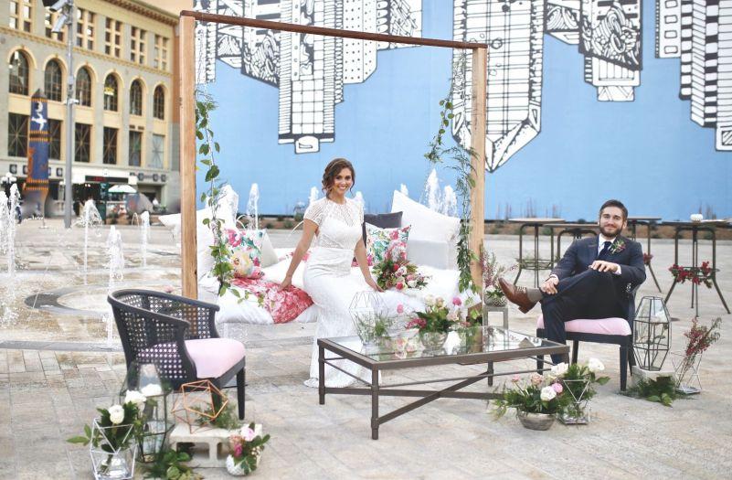 Horton Plaza Park Wedding Style Shoot.5