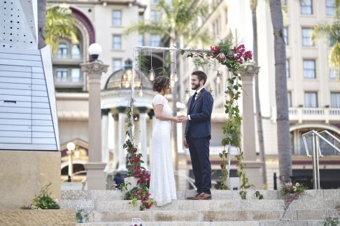 Horton Plaza Park Wedding Style Shoot.8