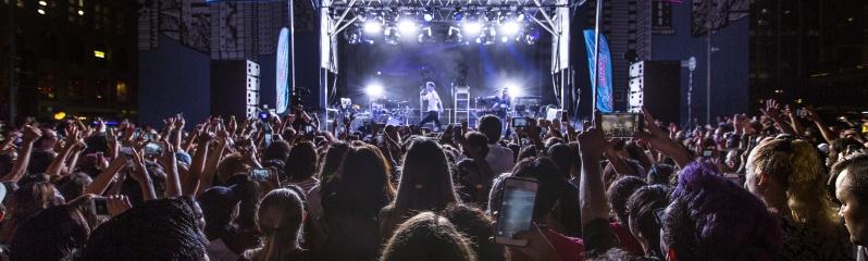 Troye Sivan Concert at Horton Plaza Park