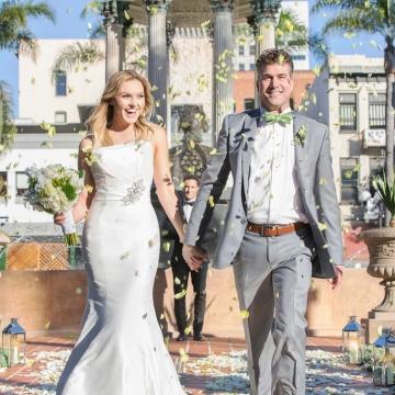 Wedding at Horton Plaza Park