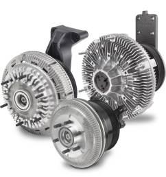fan drives or fan clutches [ 1231 x 1200 Pixel ]