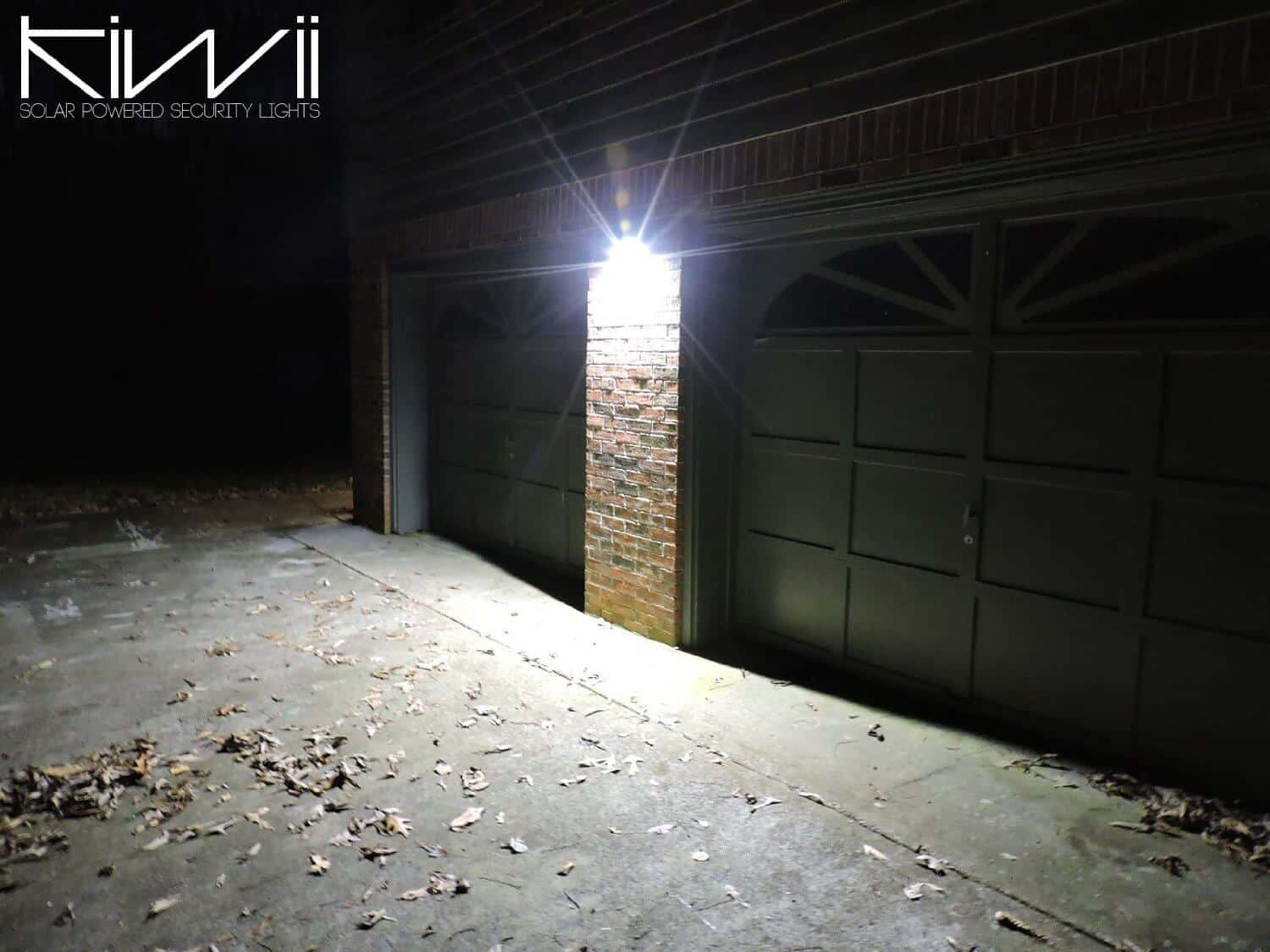 Solar powered security lights by Kiwii