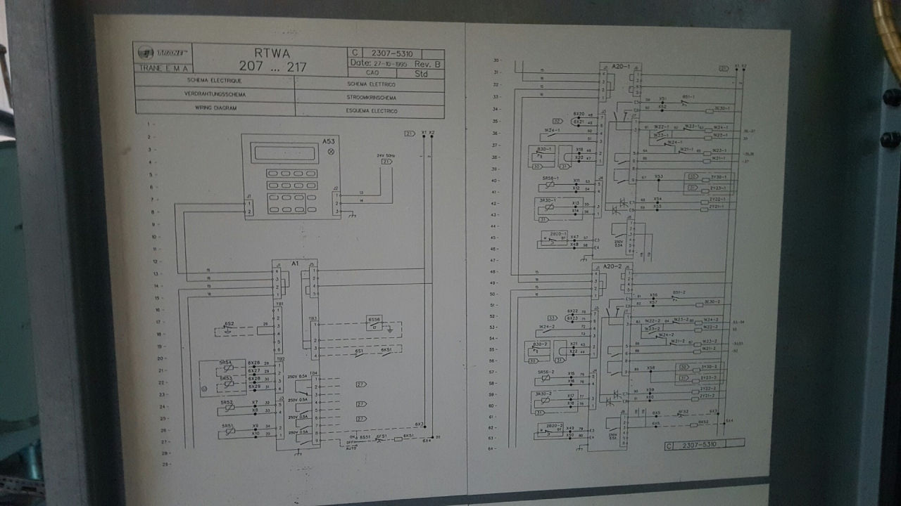 hight resolution of trane wiring diagram 2307 hos bvrh hosbv com design