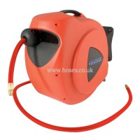 Conah 15 Metre Hose Length, Air and Water Hose Reel