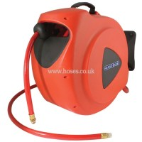 Conah 20 Metre Hose Length, Air and Water Hose Reel