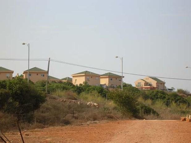 הגגות הירוקים של השכונה הקהילתית בבית רימון