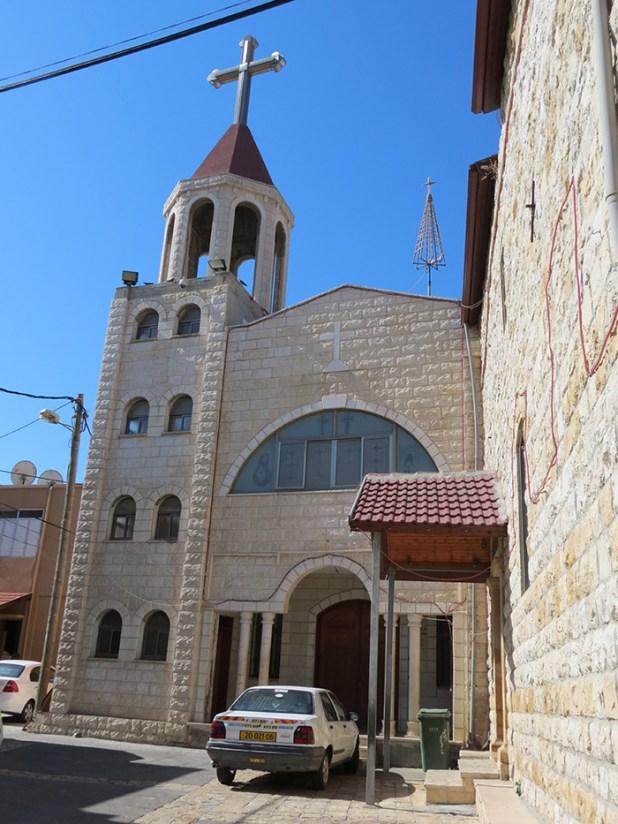 כנסיה בדיר חנא ליד המבצר