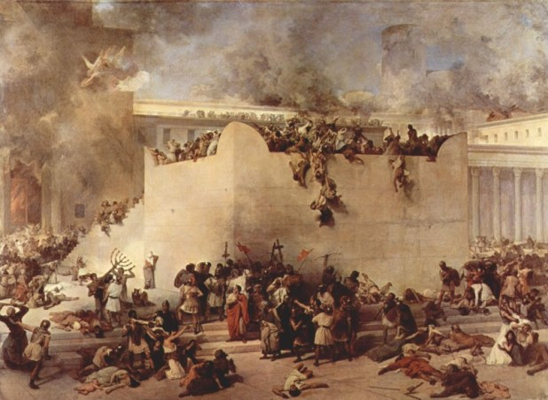 Francesco_Hayez חורבן הבית השני - ט׳ באב