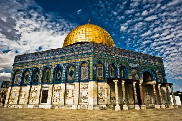 Dome of the Rock, Jerusalem מקומות קדושים בירושלים