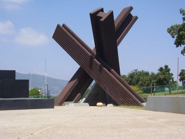 "אנדרטה קרית טבעון צילום: ד""ר אבישי טייכר"