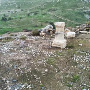 עמוד של בית הכנסת בהר ניתאי