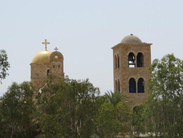הכנסייה היוונית אורתודוקסית בבית עניה מעבר לירדן