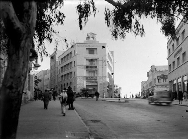 בנין ג׳נרלי בתחילת שנות ה-40