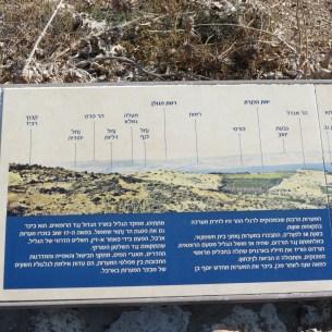 מפת נוף תצפית ארבל רייך