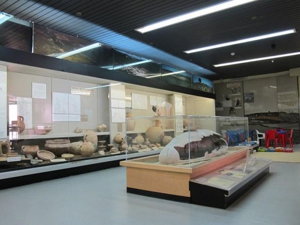 מראה כללי של המוזיאון הארכיאולוגי בעין דור צילום: מיכאלי
