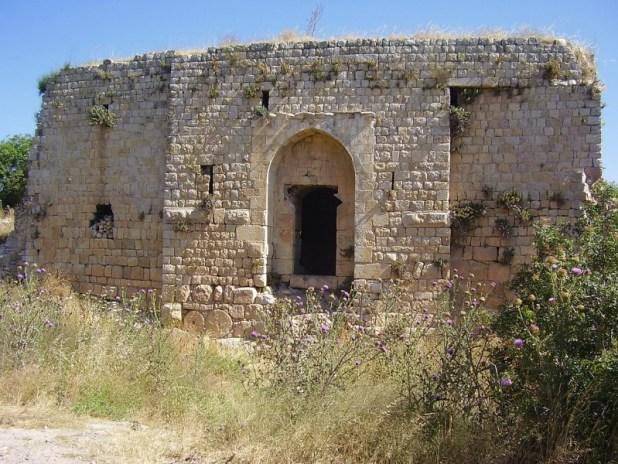 Chateau Neuf fortress in Upper Galilee מצודת שאטו נף (הונין)ליד מושב מרגליות צילום:Avishai Teicher