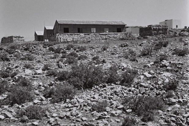 מראה מן הקיבוץ בגוש עציון, 1947