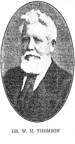 Dr.W.M. Thomson