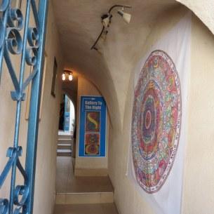 Kabbalah Art Entrance