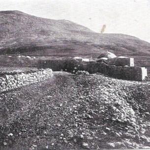 קבר יוסף והר עיבל, סוף המאה ה-19