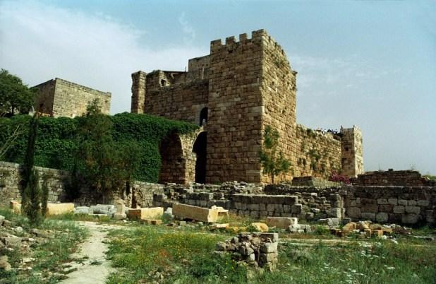 המצודה הצלבנית גבל - ג'בייל (جبيل) - Byblos