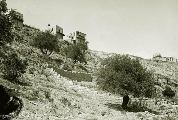 עיר דוד בראשית המאה ה-20 צילום: תמר הירדני