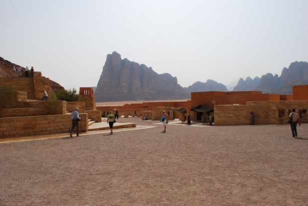 The Wadi Rum Visitor Center צילום:Jean Housen
